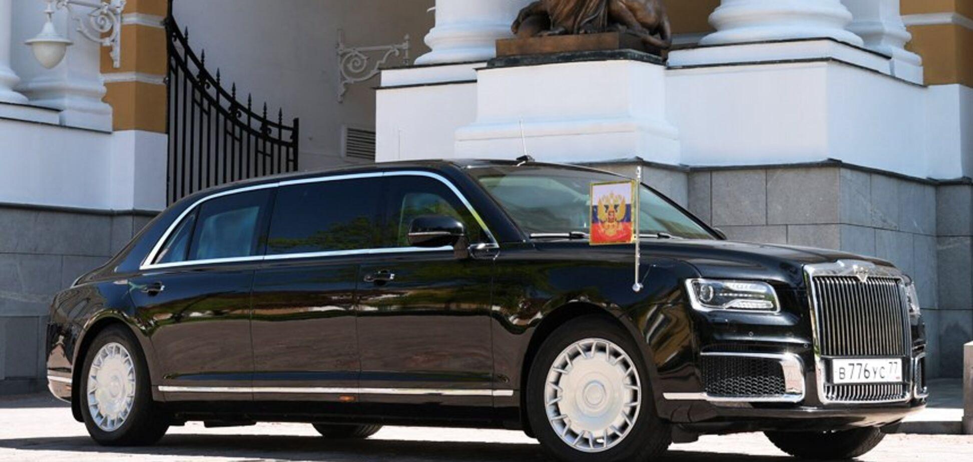 Боится покушения? В России срочно проверили лимузин Путина