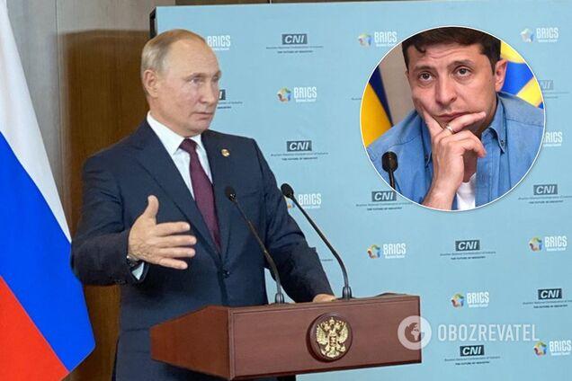 Путін висунув вимоги Зеленському