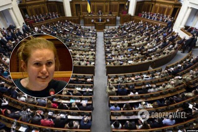 Анна Скороход, Верховна Рада