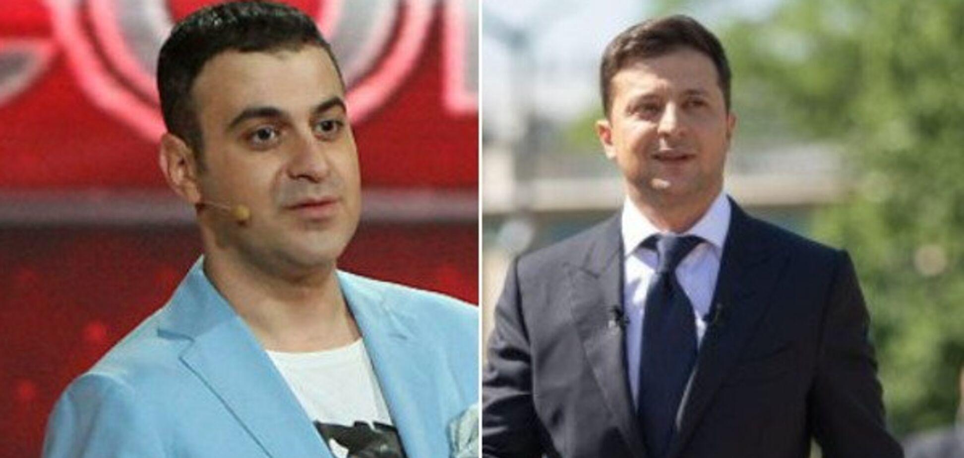 'У него серьезные проблемы': Мартиросян признался, почему не общается с Зеленским