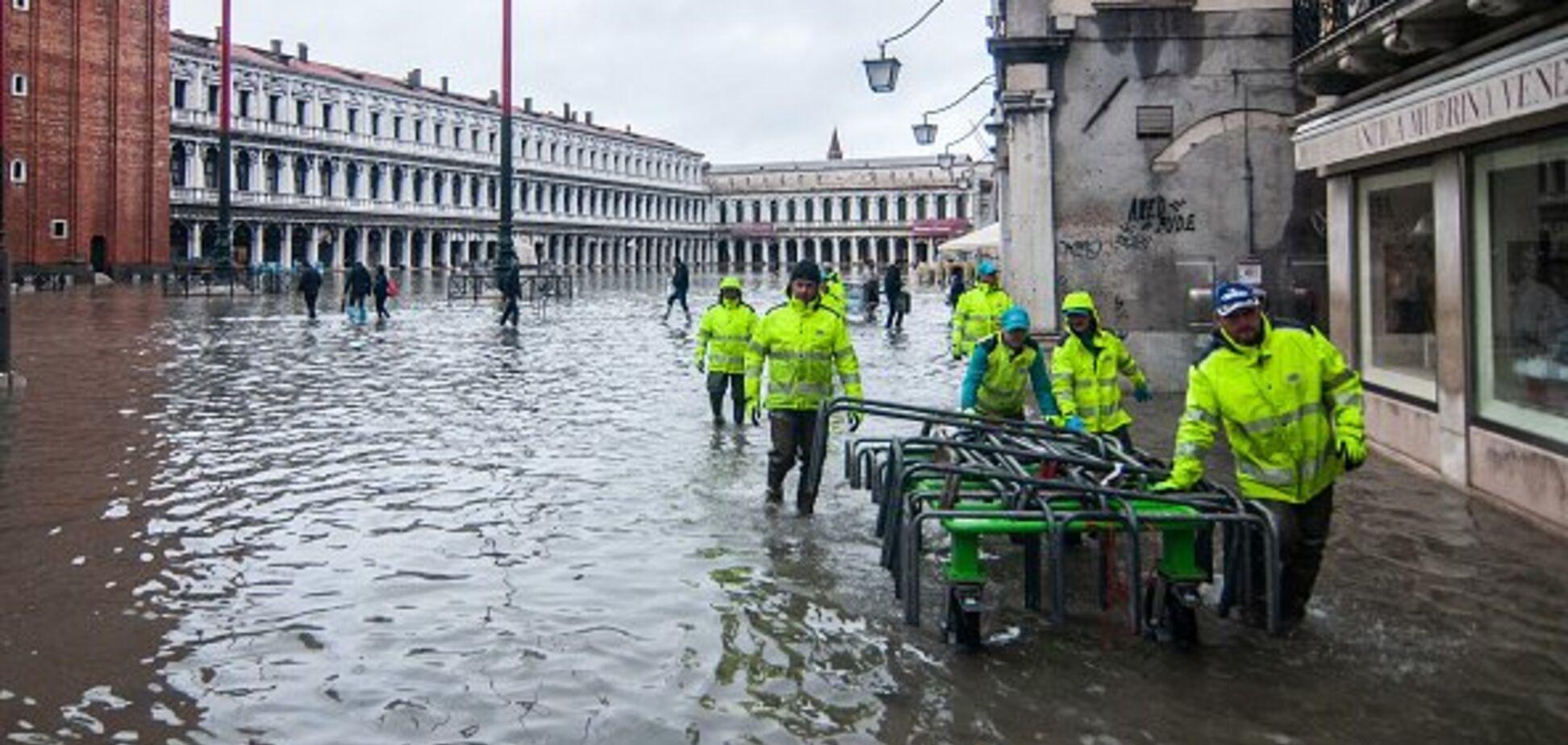 Венецію атакувала вода: оголошено режим НС