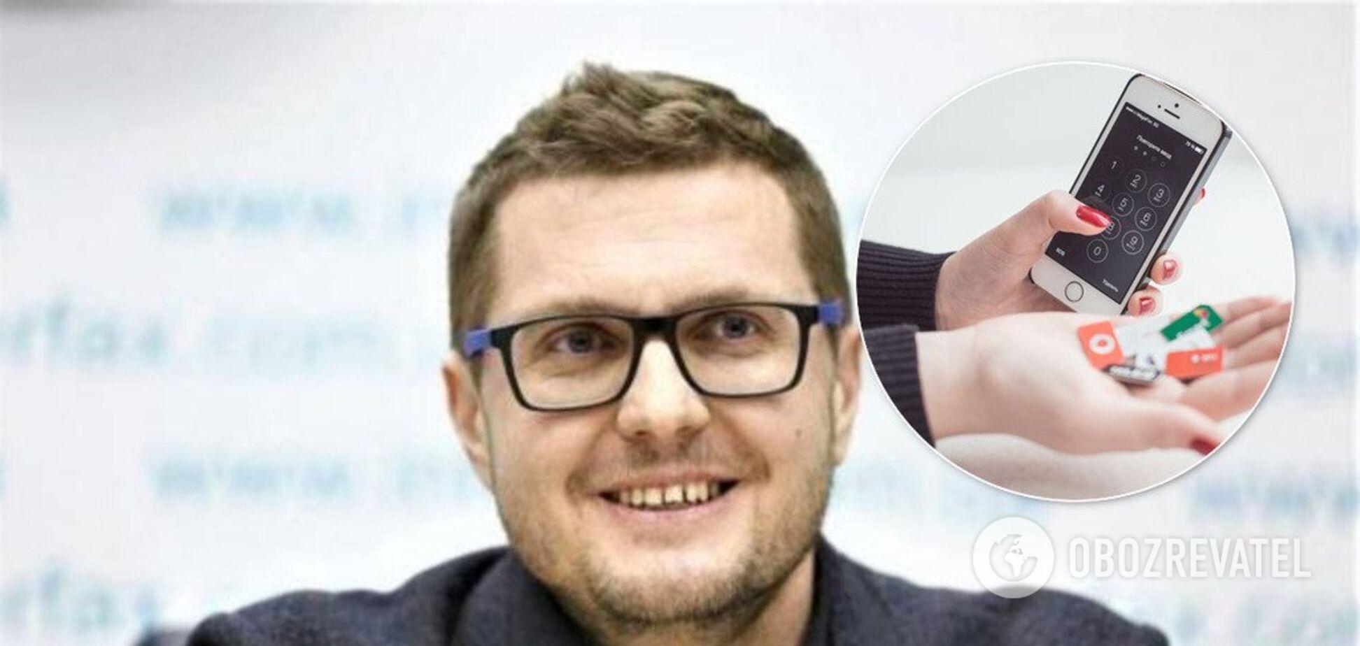 Сим-карты по паспорту: СБУ захотела ввести серьезные ограничения для украинцев