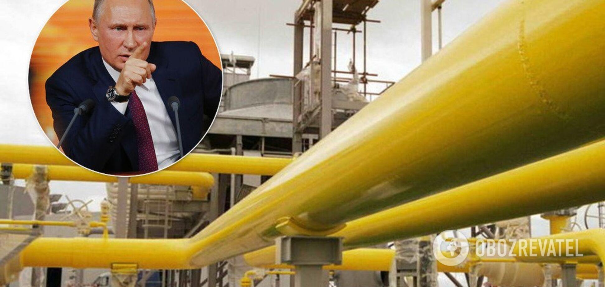 Путин угрожает Украине: назван повод для прекращения транзита газа
