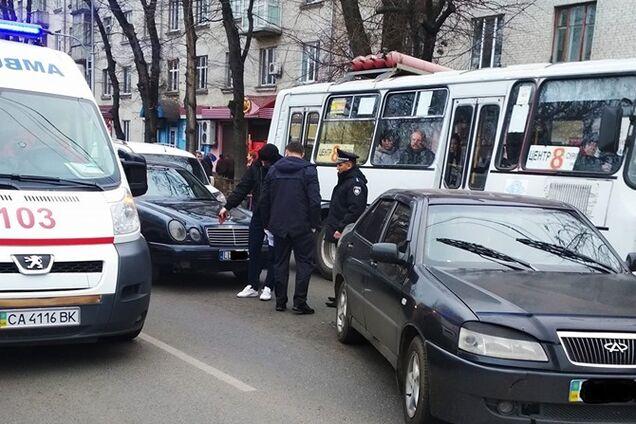 Водій авто на єврономерах збив жінку