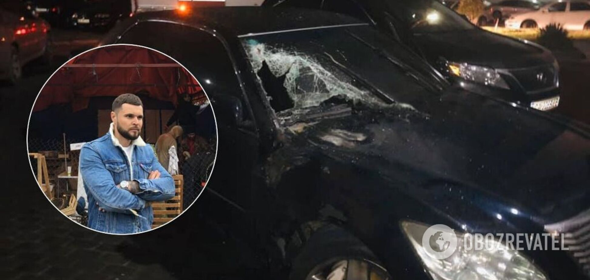 Был не задекларирован: чиновнику черкасской мэрии ночью раскурочили автомобиль