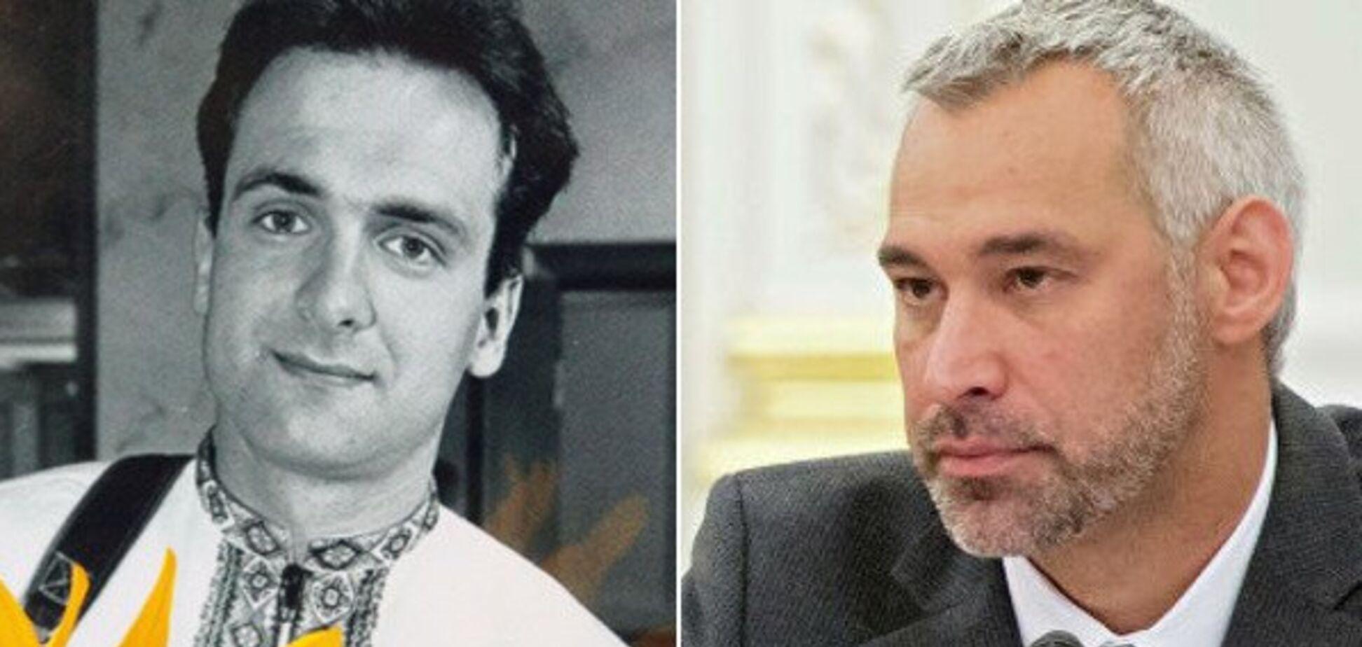 Григорій Гонгадзе і Руслан Рябошапка