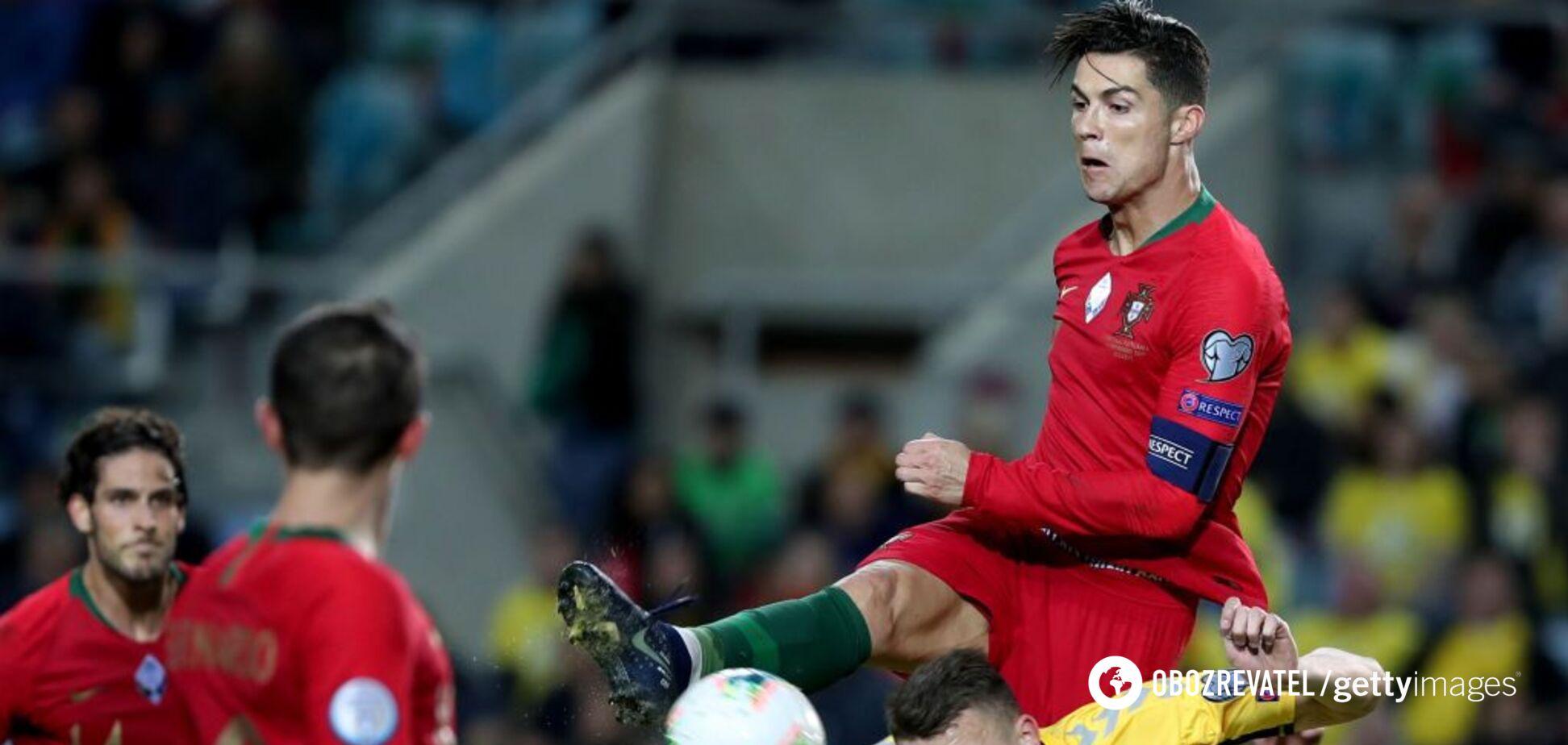 Роналду провів феєричний матч у відборі Євро-2020, встановивши незвичайний рекорд