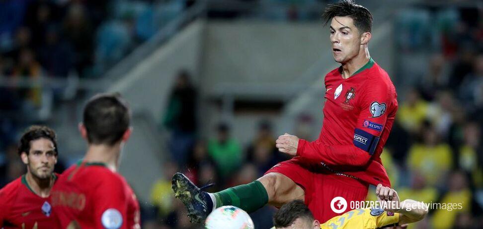 Роналду провел феерический матч в отборе Евро-2020, установив необычный рекорд