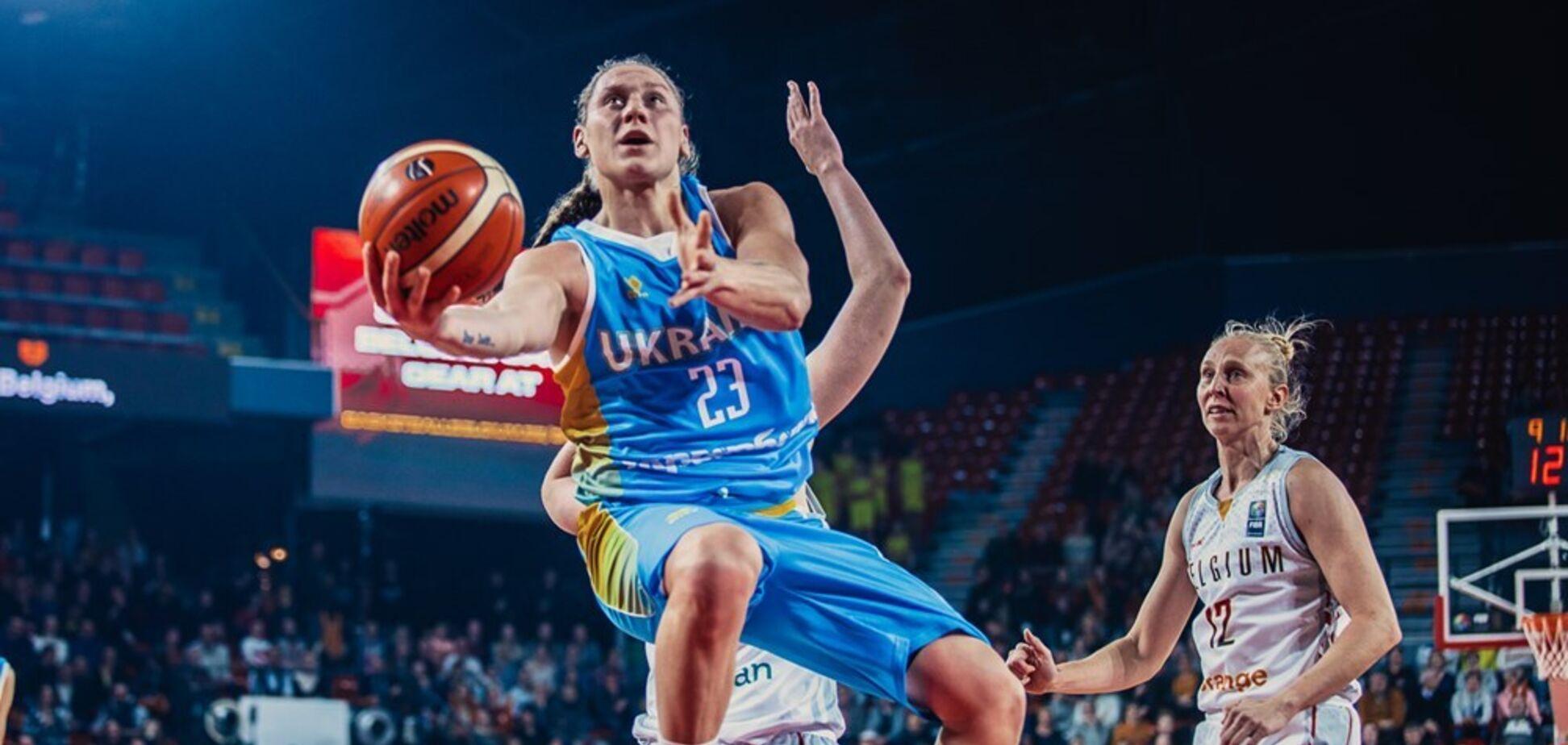 Украинка Ягупова стала лучшим бомбардиром первого тура отбора Евробаскета