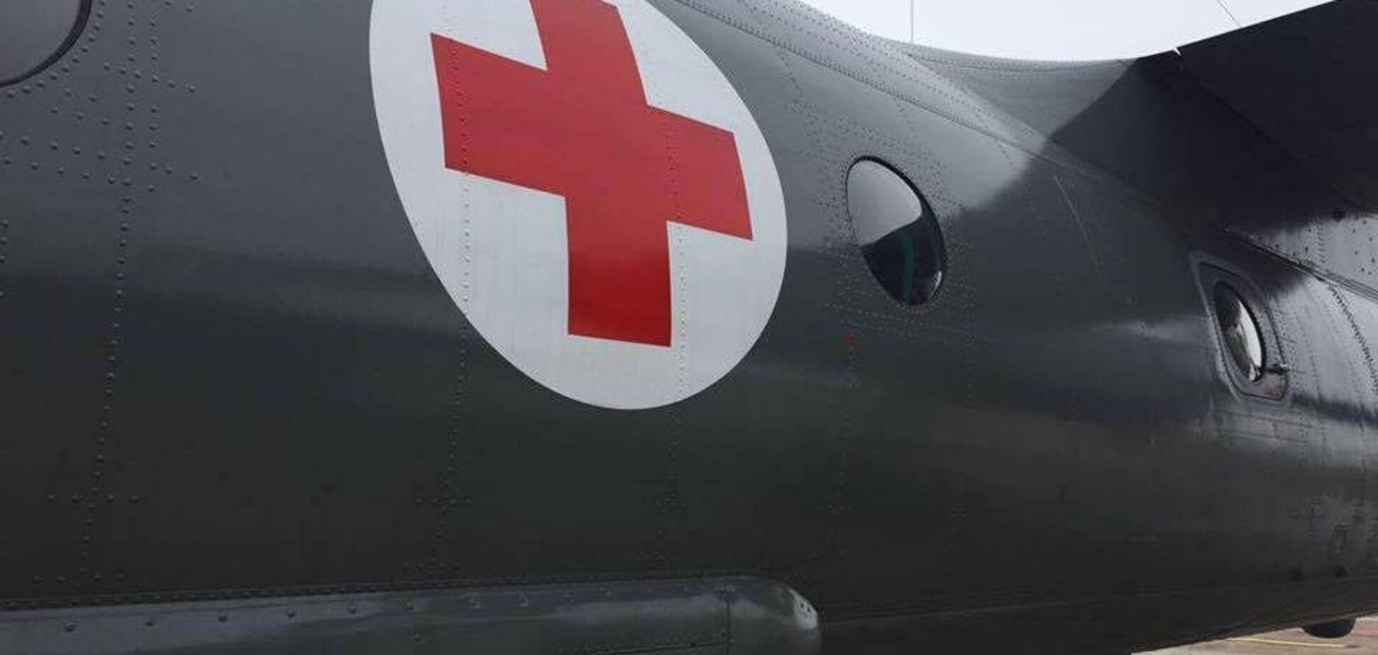 Ранение лазером: в Днепр срочно эвакуировали бойца ВСУ