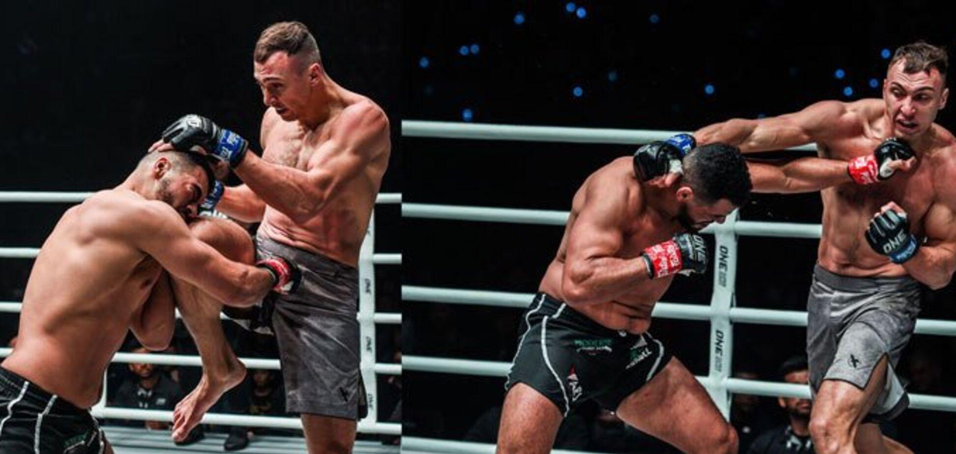 Український боєць ММА звірячим нокаутом став чемпіоном світу