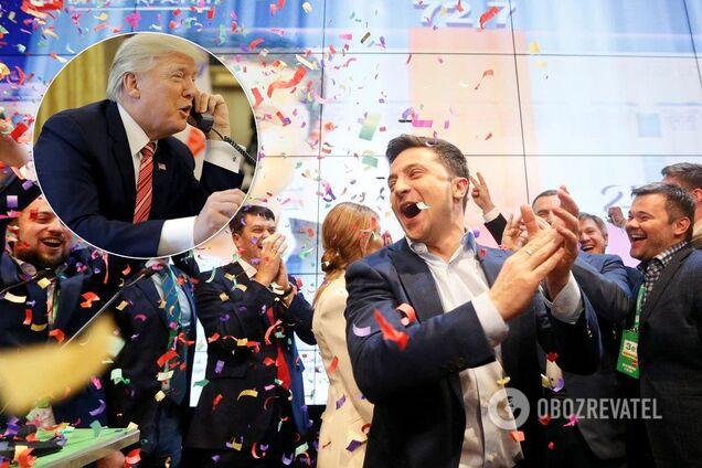Володимир Зеленський та Дональд Трампа