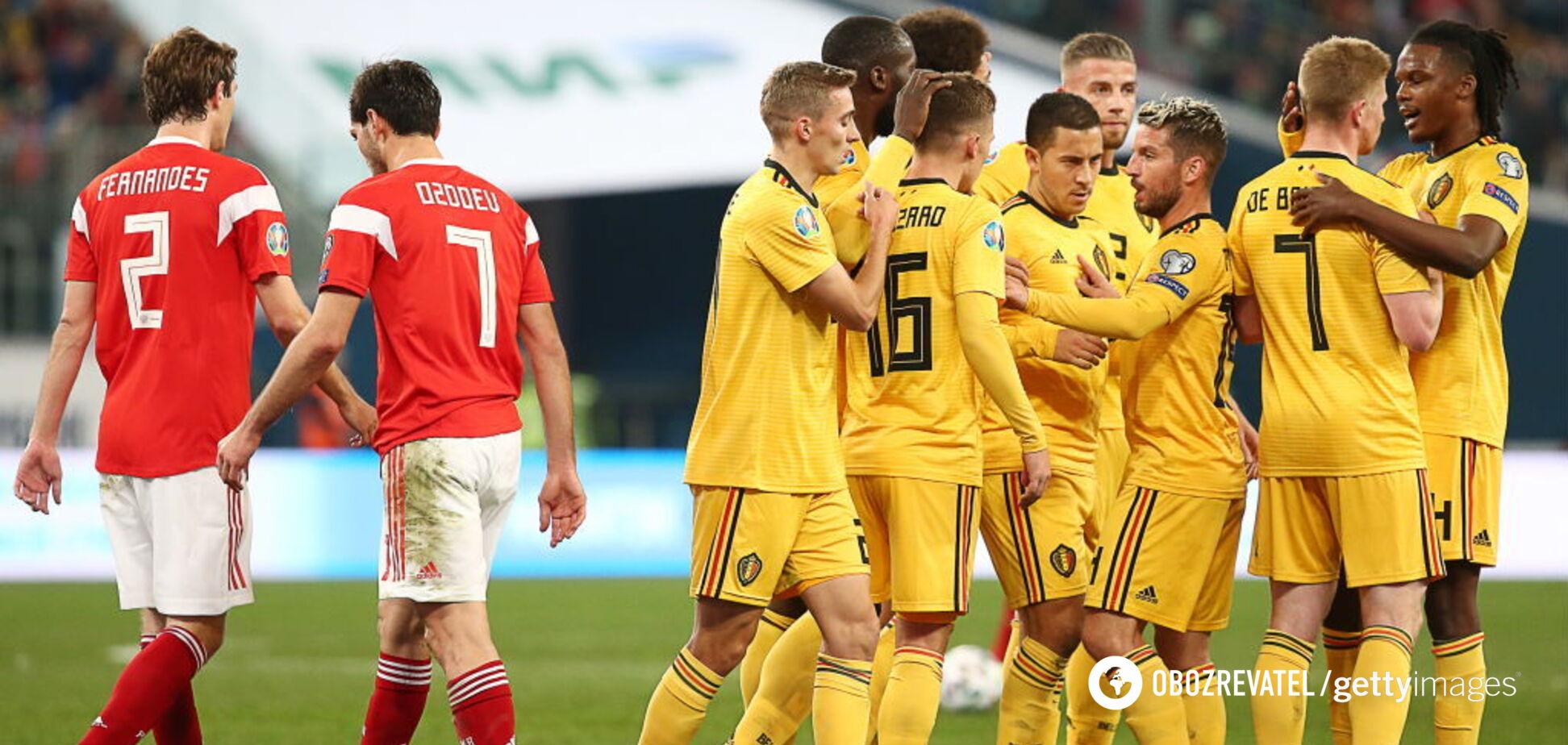 Перед родными трибунами: Россия разгромно проиграла в отборе Евро-2020