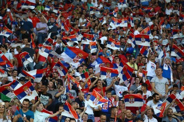 Сербов предупредили о серьезных последствиях матча с Украиной photo