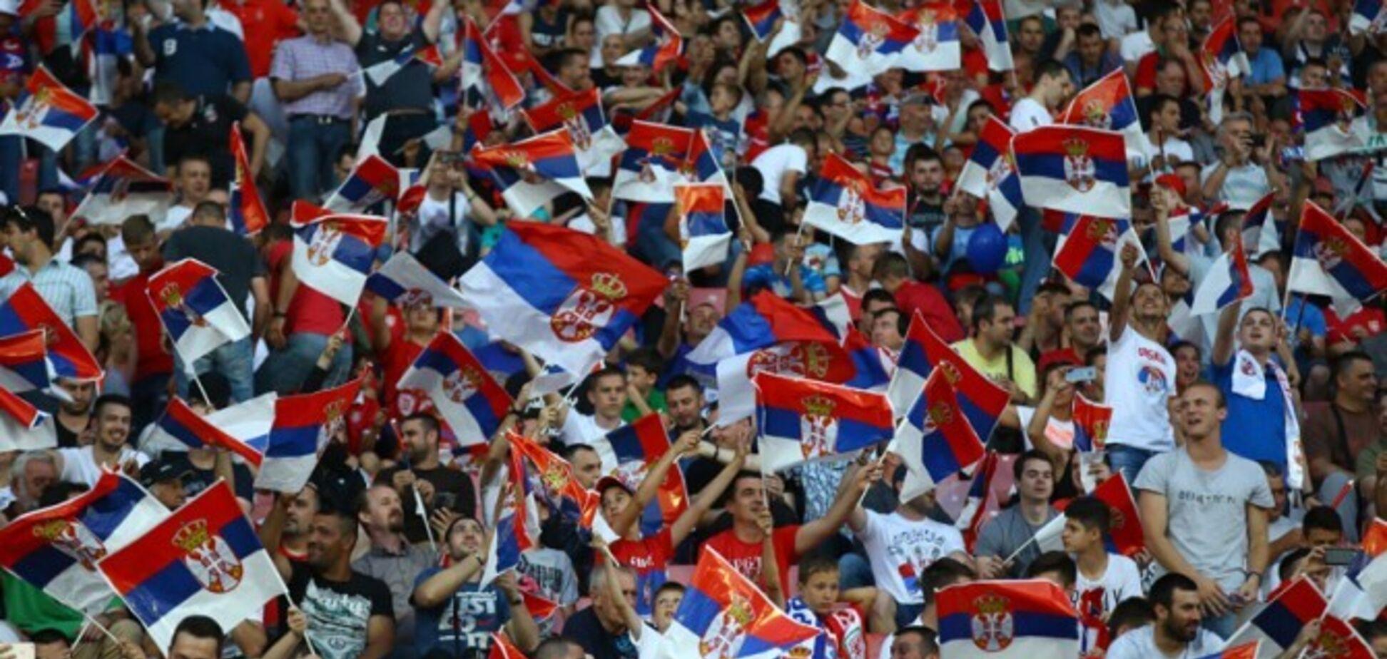 Сербів попередили про серйозні наслідки матчу з Україною