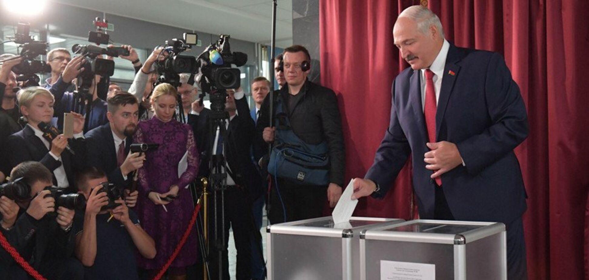 Лукашенко на выборах