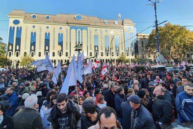 Протест в Тбилиси