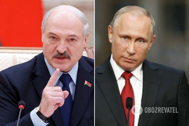 Російський президент перервав поставки дешевої нафти, від якої сильно залежить економіка Білорусі