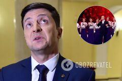 Відповів коротко: стало відомо, як Зеленський відреагував на скандальну пісню про підпал будинку Гонтаревої