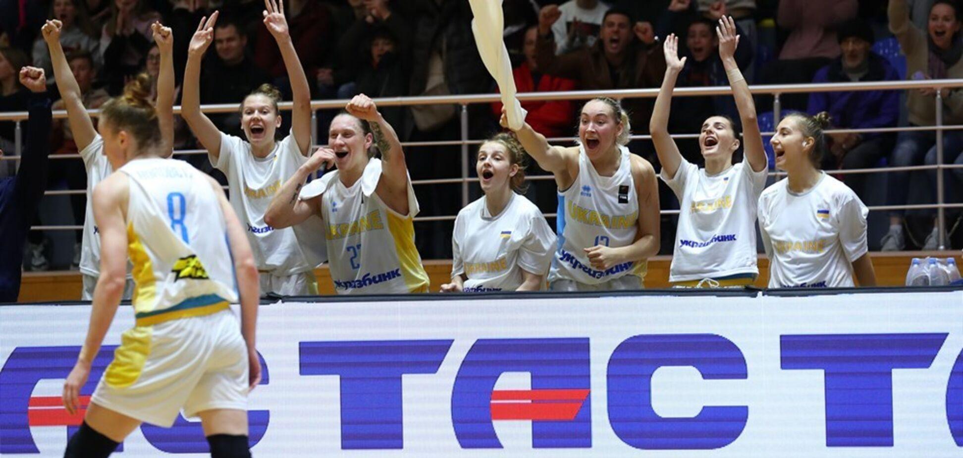 Українки здобули важливу перемогу у відборі Євробаскету-2021