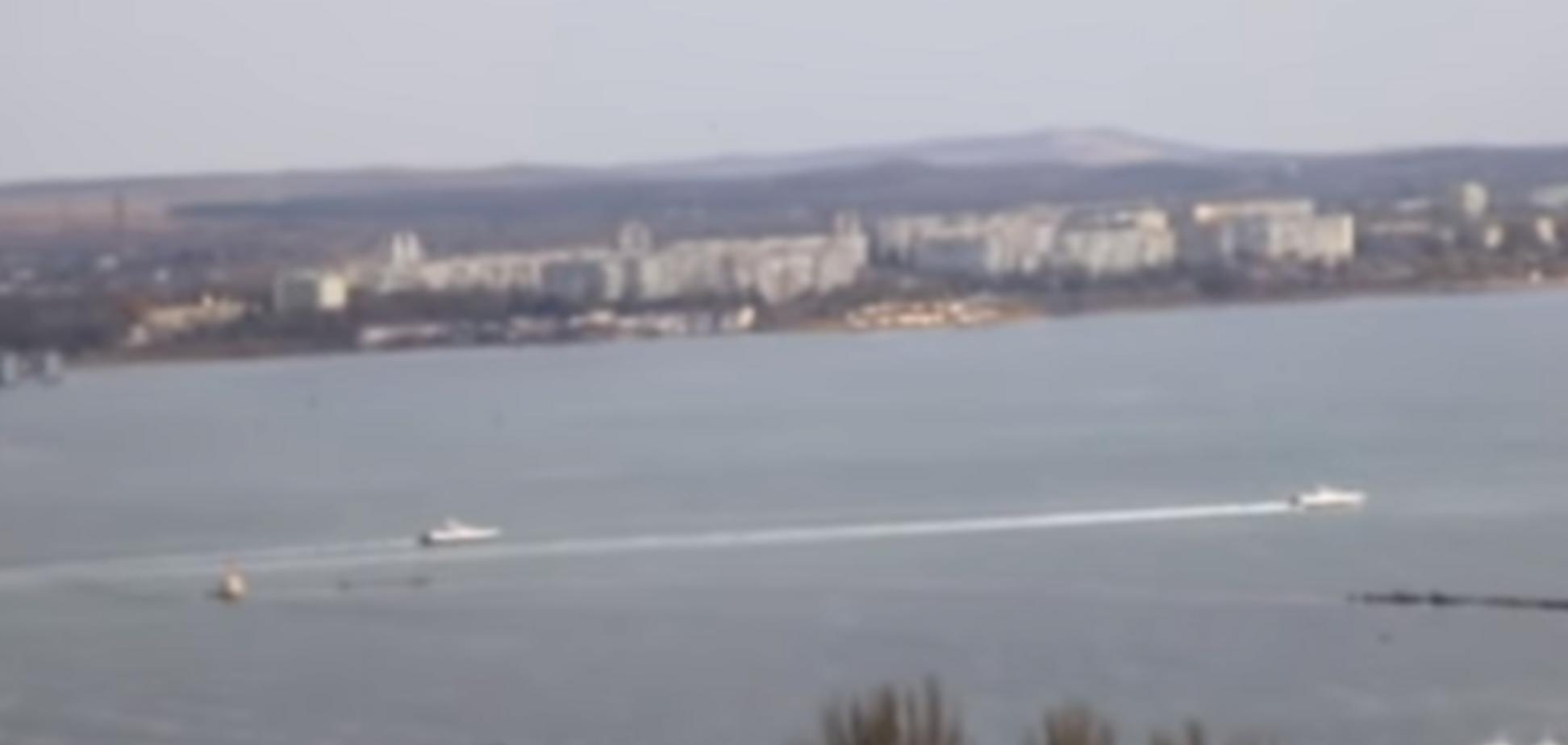 Россия вернула Украине корабли. Источник: калр из видео