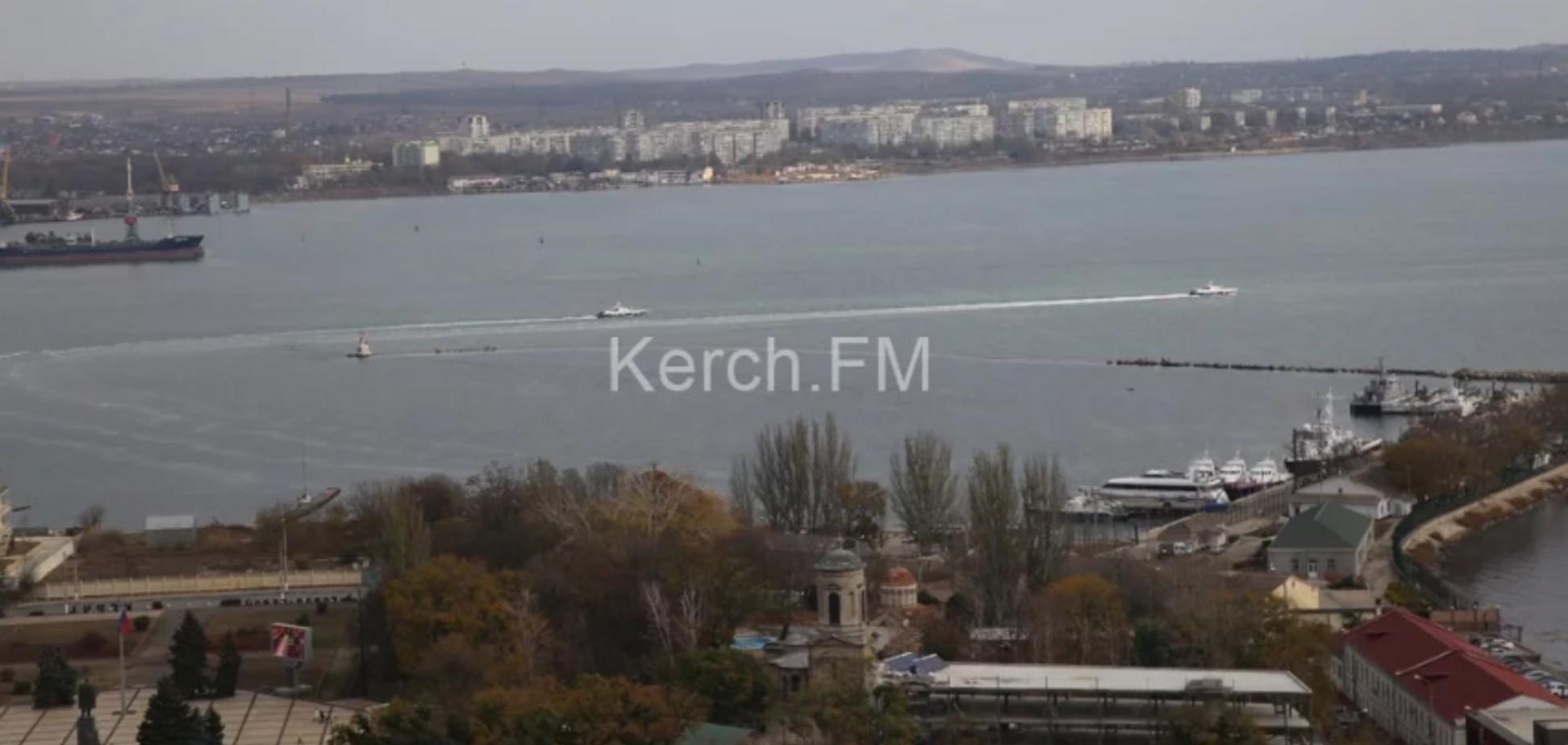 Путин возвращает Украине захваченные корабли: появились фото и видео