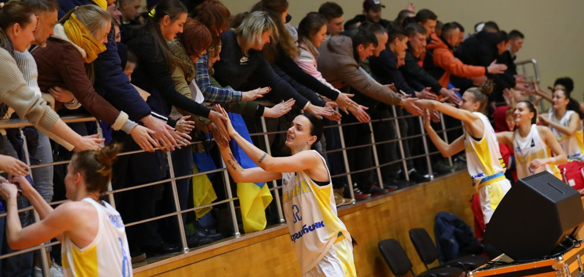 Украинки произвели фурор в Харькове после матча Евробаскета