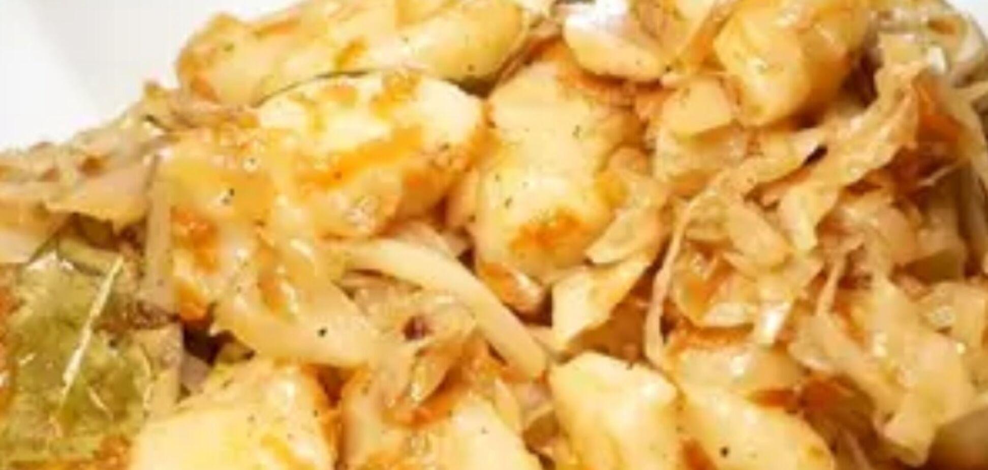 Рецепт дуже смачної страви з капустою