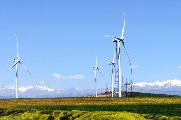 """Вітроелектростанція """"Картлі"""" в Горі, Грузія"""