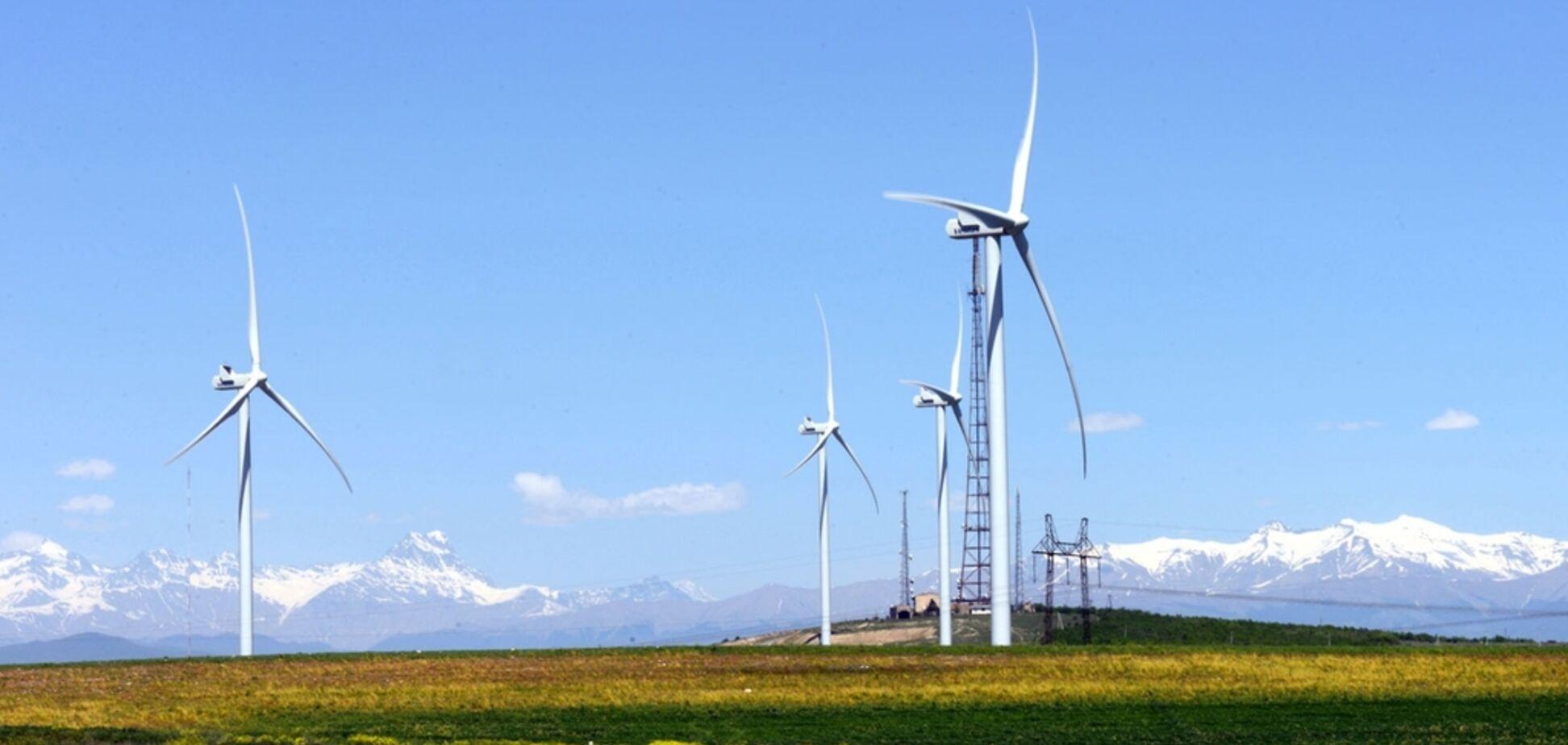 Уряд Грузії 'втратив' єдину вітроелектростанцію