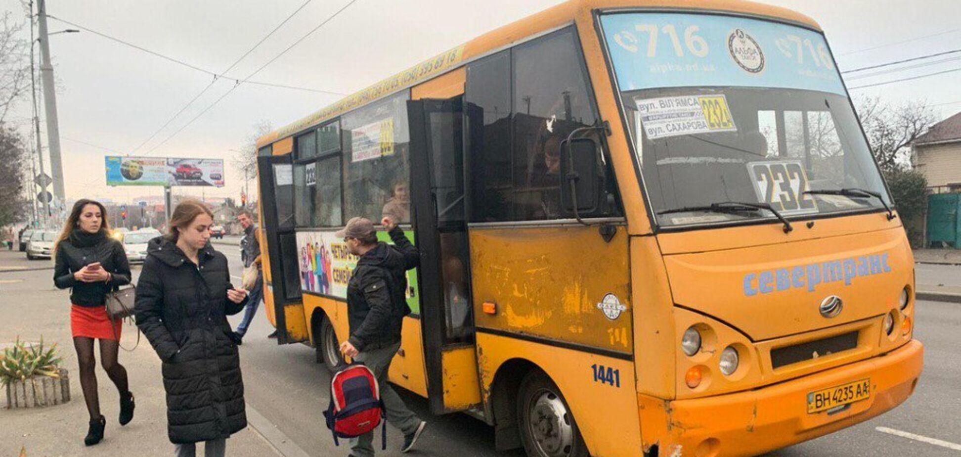 В Одесі трапився конфлікт між водіями маршруток