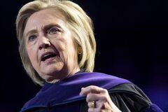 Начал разваливаться: с самолетом Хиллари Клинтон случилось ЧП в небе