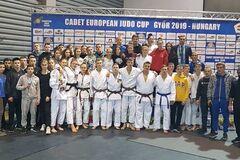 Українські дзюдоїстки виграли три золоті медалі на Кубку Європи
