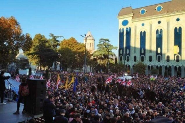 Протести в Тбілісі