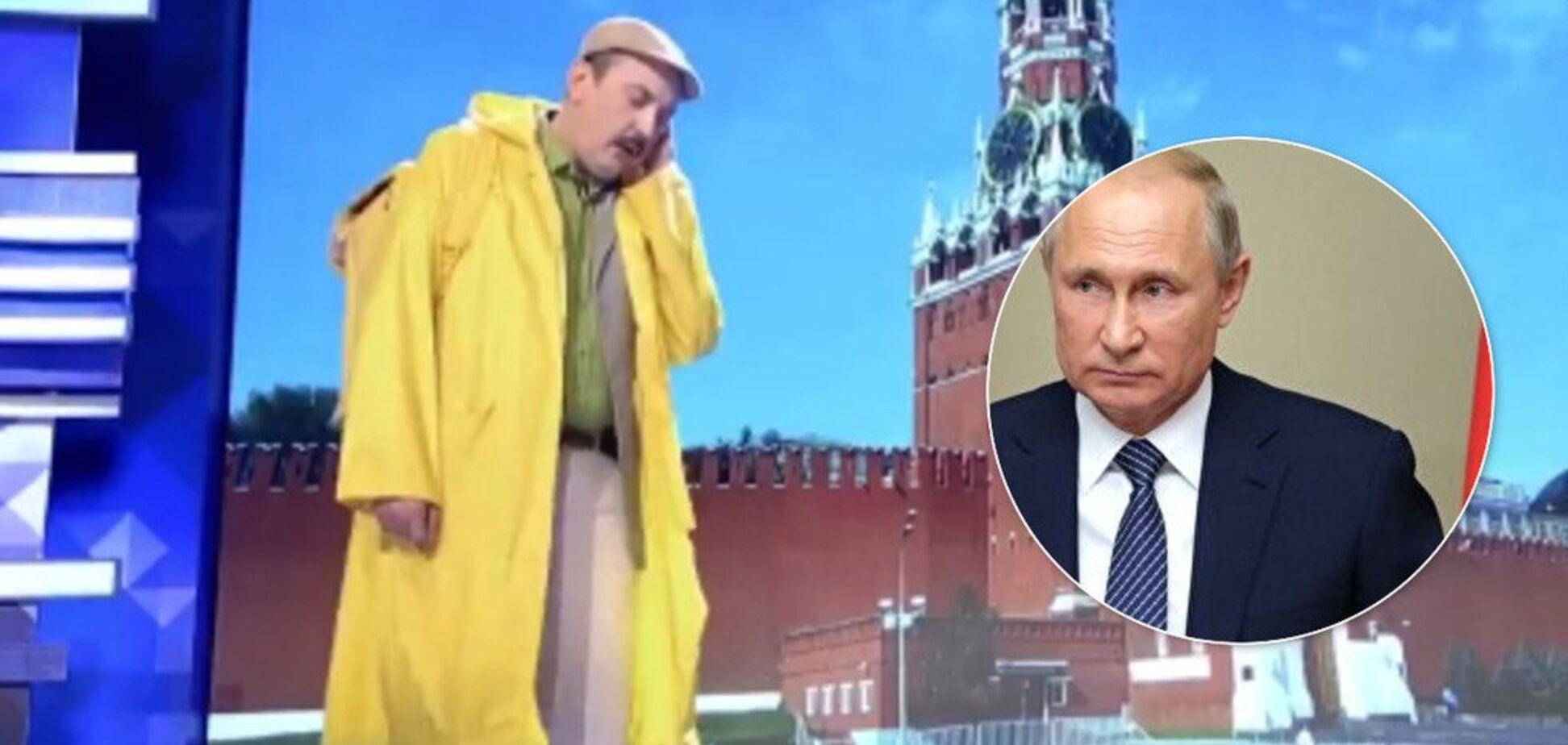 'Вы вместо Владимира?' Российские КВНщики высмеяли Путина и Медведева