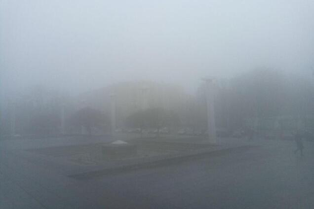 Туман в Харькове