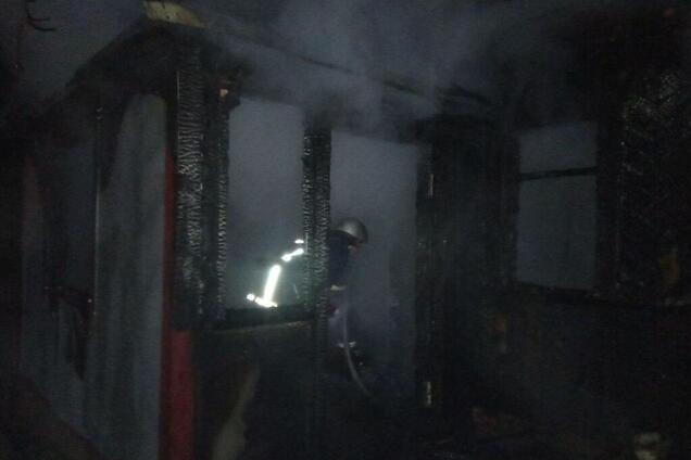 Под Киевом в масштабном пожаре погиб молодой человек
