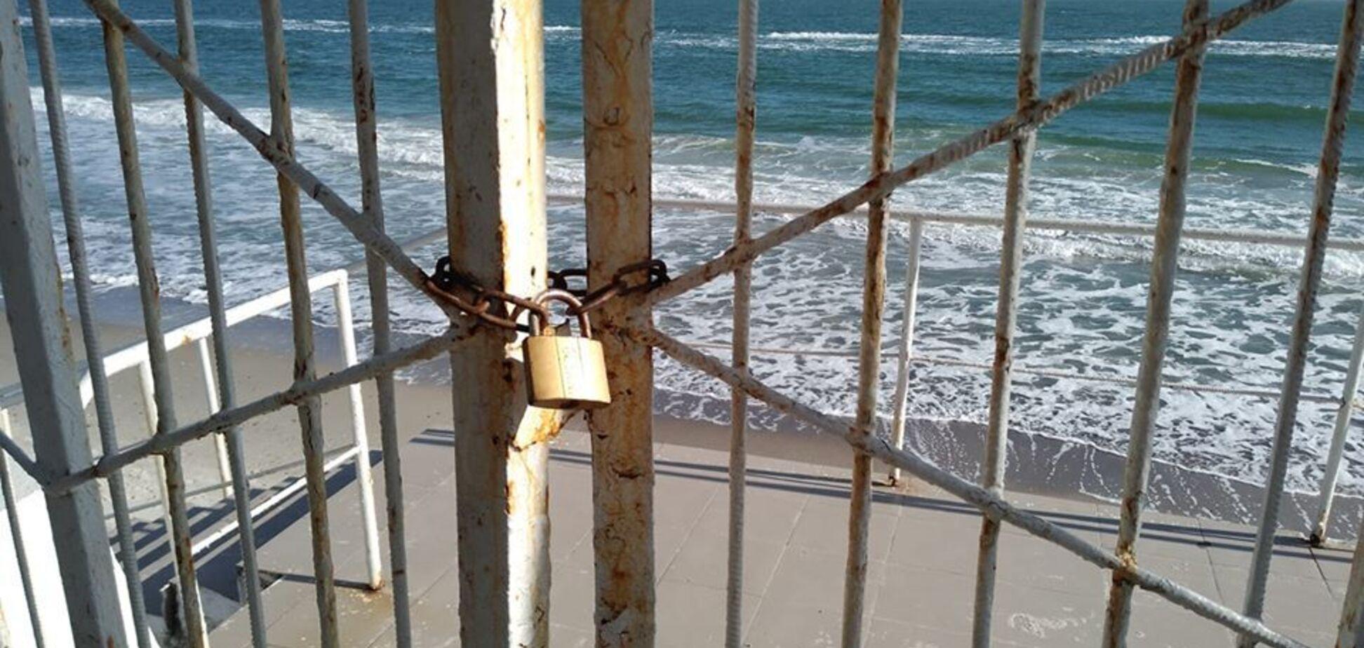 Закриті пляжі Одеси