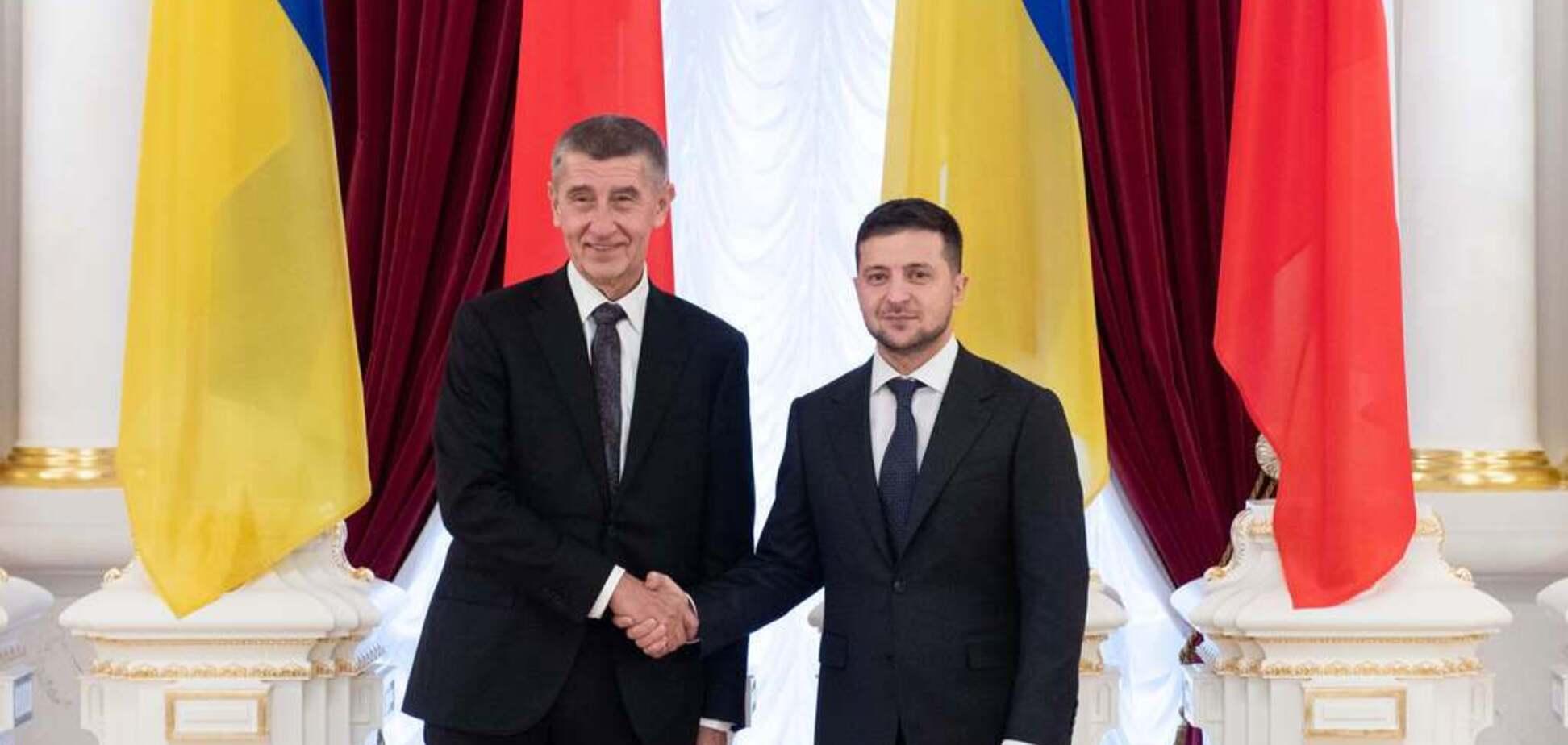 Андрій Бабіш і ВолодимирЗеленський