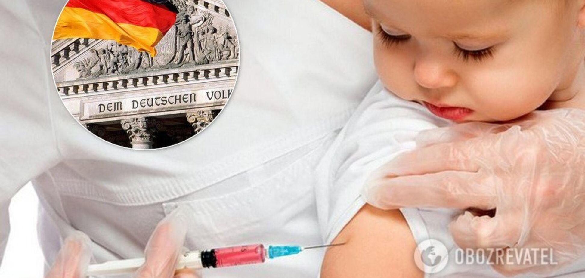 Німеччина встановила штраф за відмову від вакцинації