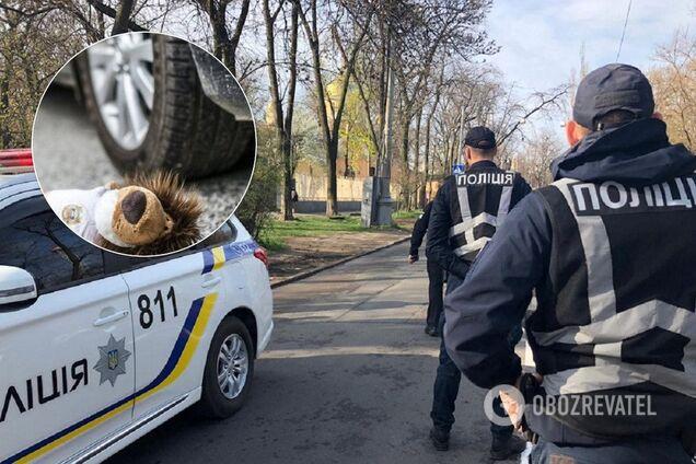 В Киеве нашли водителя, наехавшего на ребенка