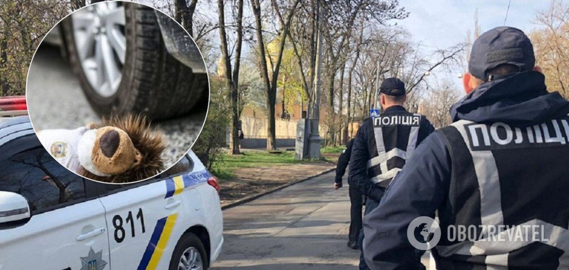 Сбил и скрылся: в Киеве нашли водителя, наехавшего на мальчика во дворе