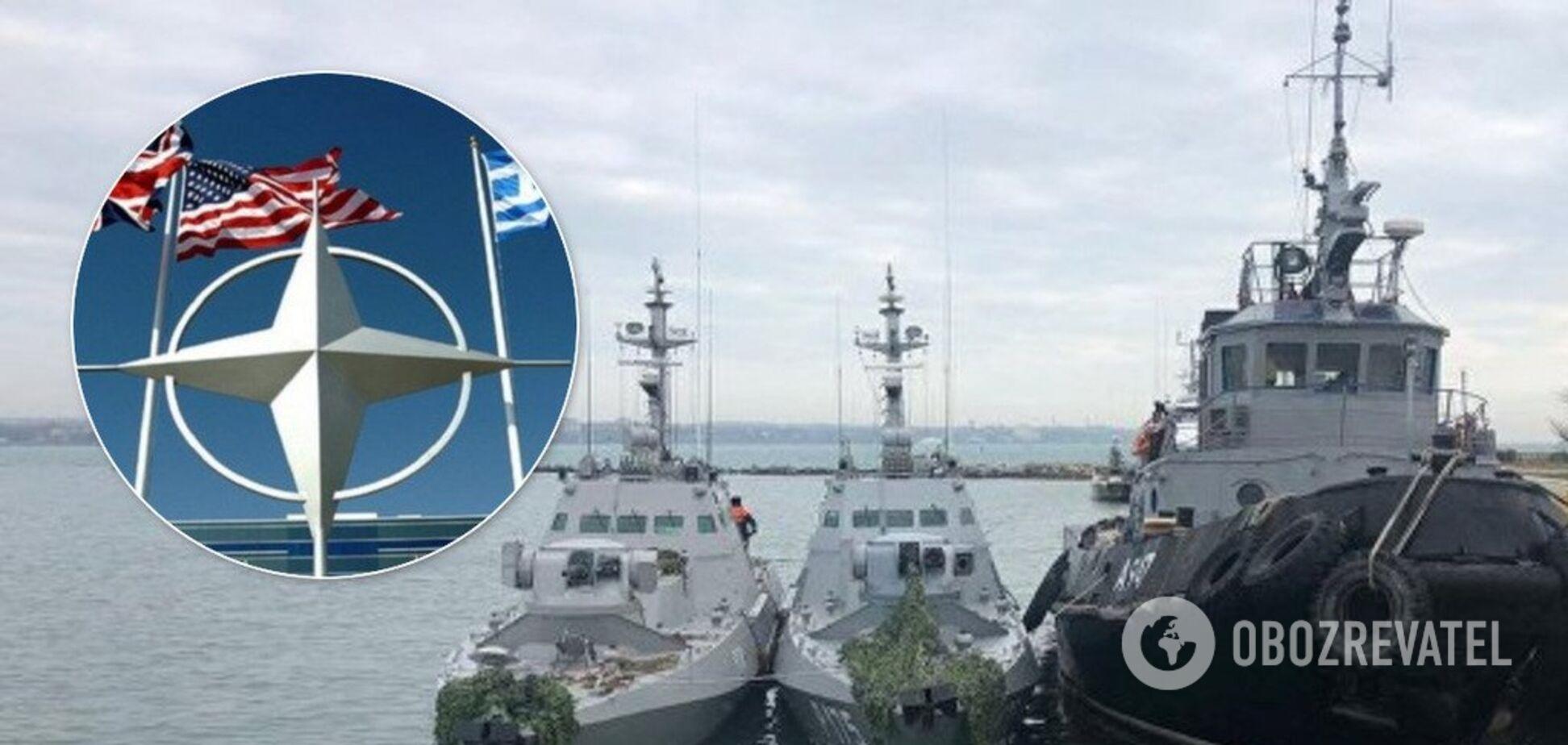 Возврат Россией кораблей Украине
