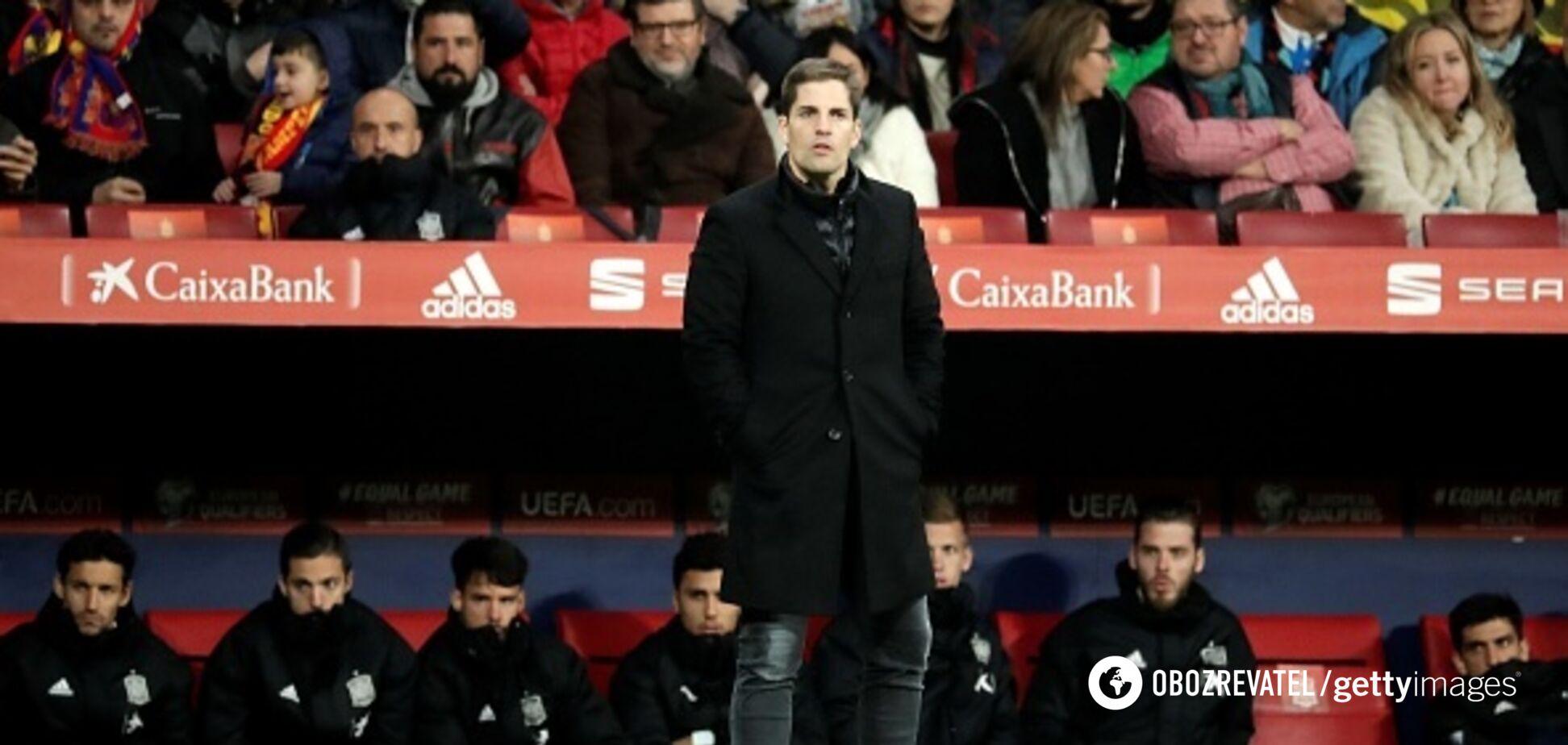 Скандал в Іспанії: тренера збірної звільнили, незважаючи на вихід на Євро-2020