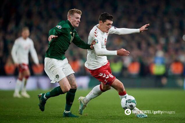 Ирландия - Дания - 1:1