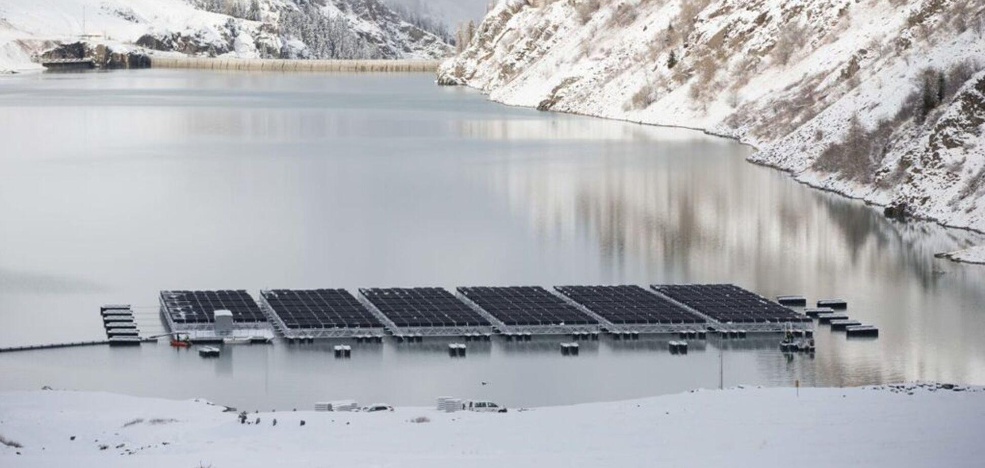Дасть на 50% більше електрики: сонячну станцію встановили у несподіваному місці