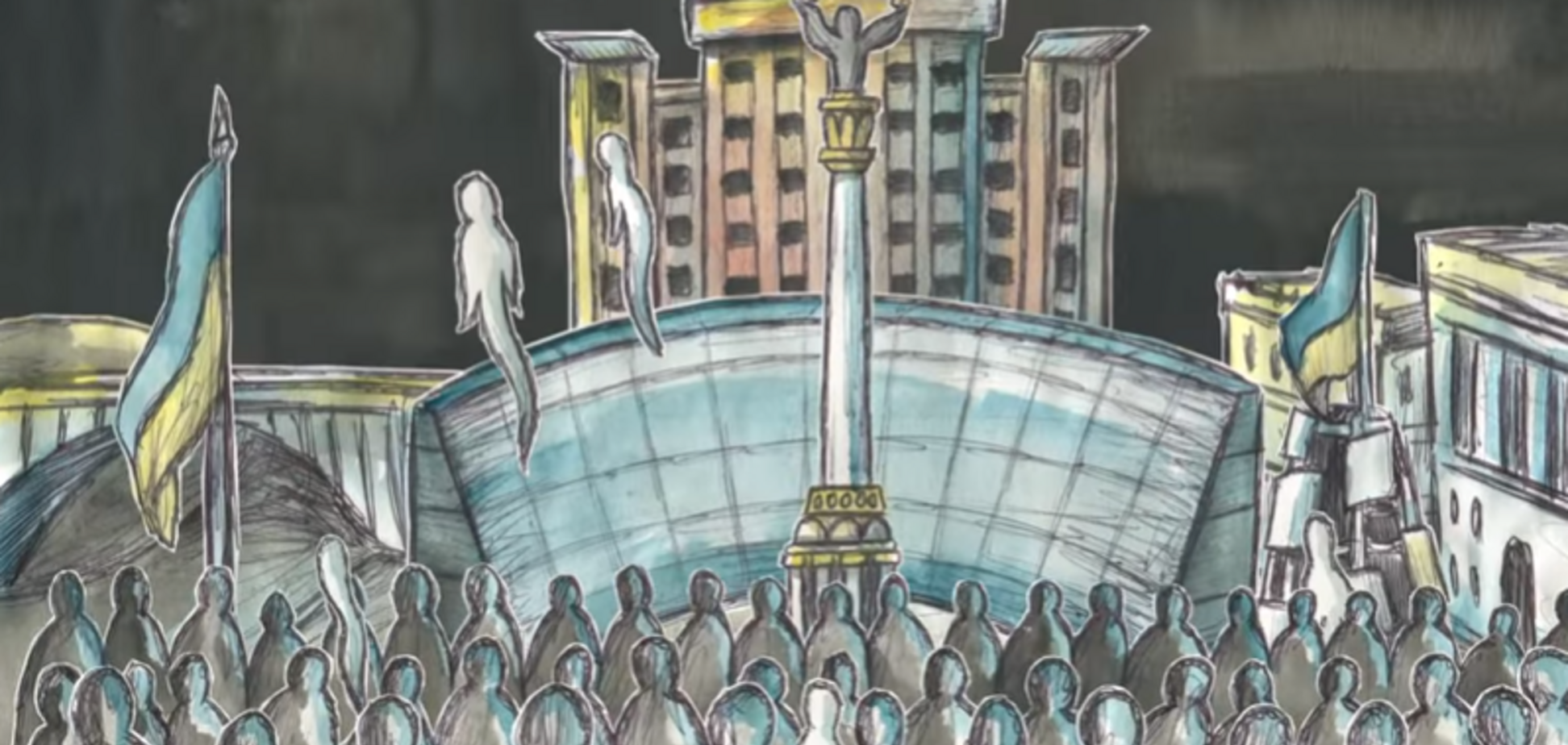 История Украины за 5 минут: ТНМК презентовал интересную анимацию