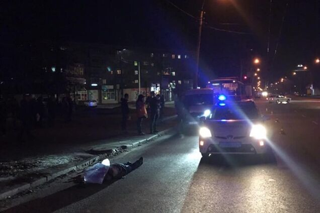 В Черкассах маршрутка сбила пешехода