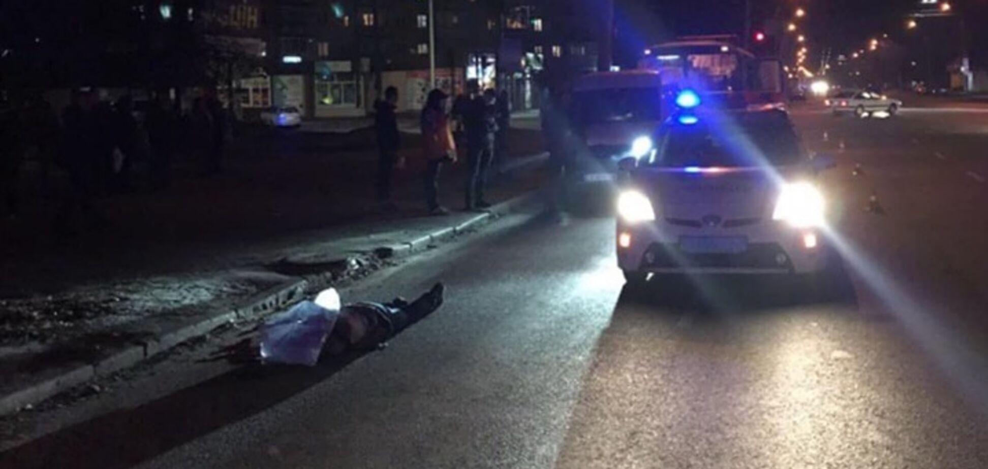 Не заметил, как сбил: в Черкассах мужчина погиб от наезда маршрутки