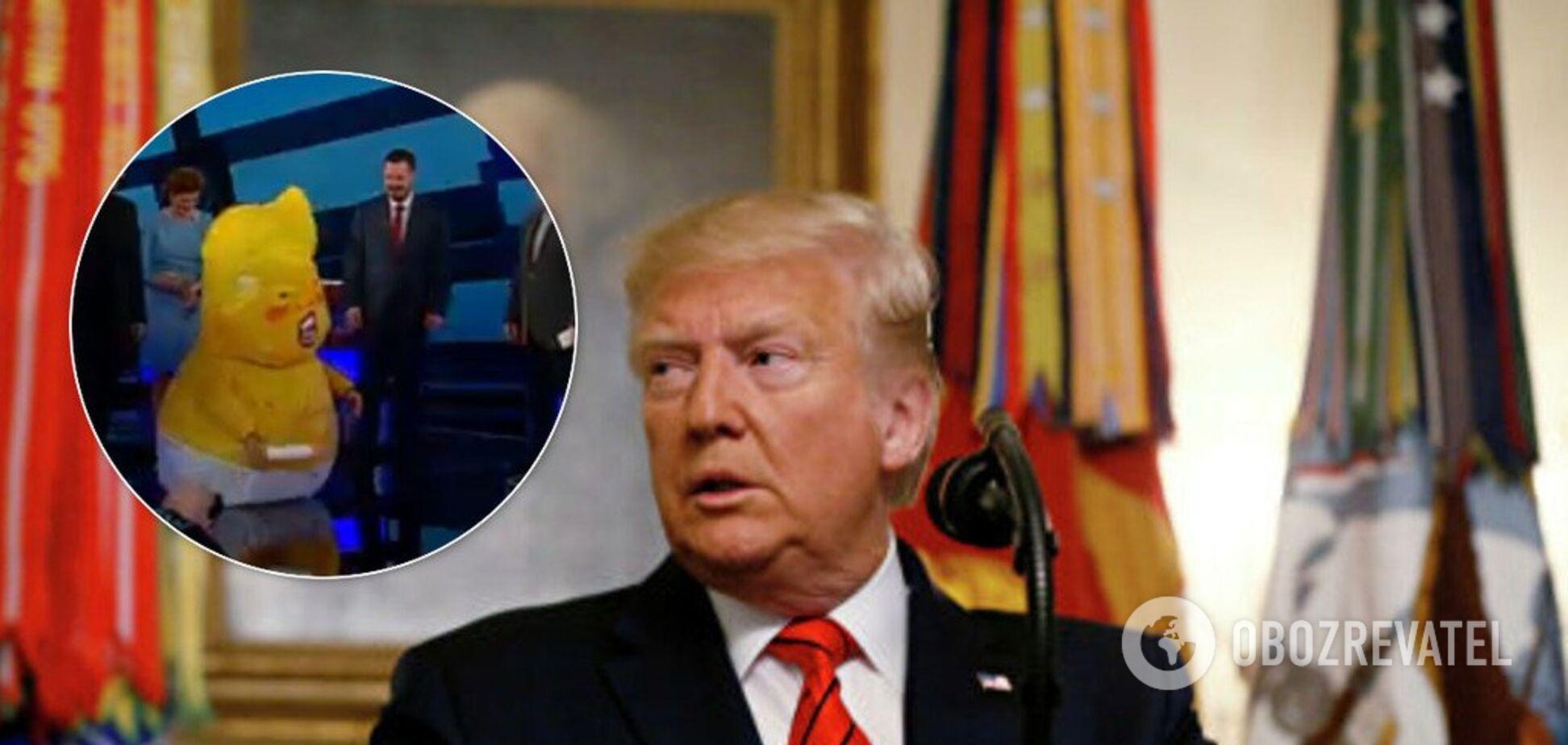 Известный ведущий побывал в шкуре Трампа. Видео